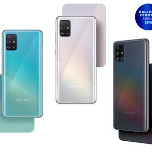 Samsung Galaxy A51 disponibili tre colorazioni