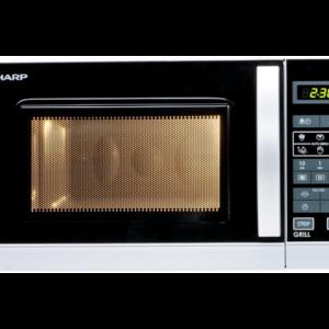 Forno Microonde Sharp R642INW con luce interna
