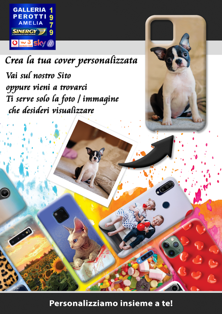 Cover Cellulare Personalizzata Galleria Perotti Amelia